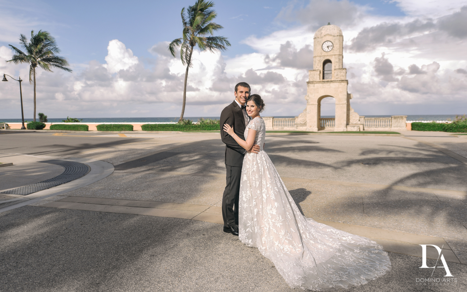 beach day at Luxury Summer Wedding at The Colony Hotel Palm Beach by Domino Arts Photography