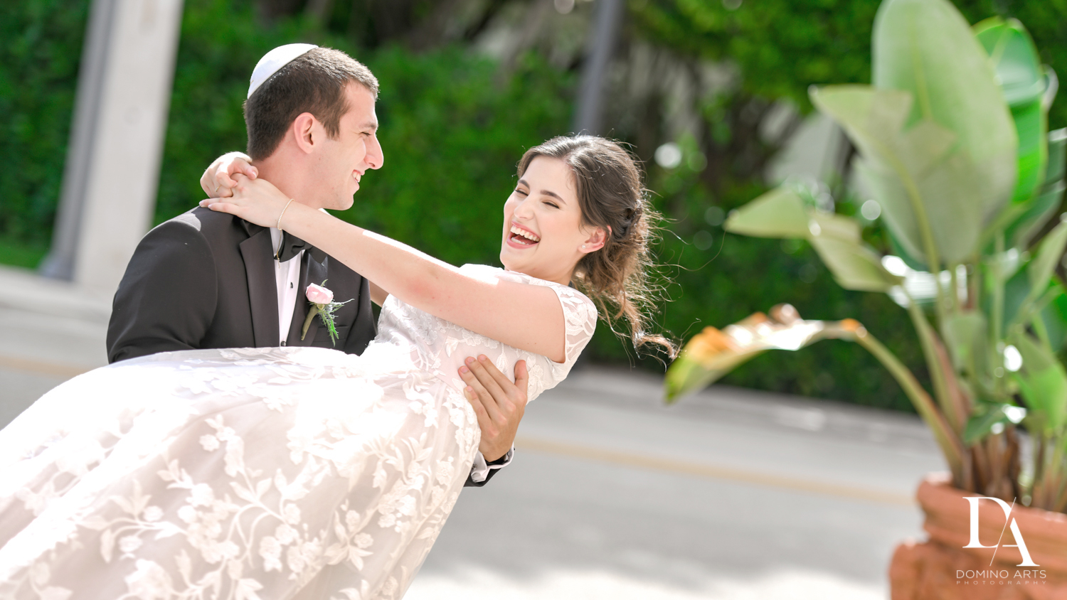 romantic photos at Luxury Summer Wedding at The Colony Hotel Palm Beach by Domino Arts Photography