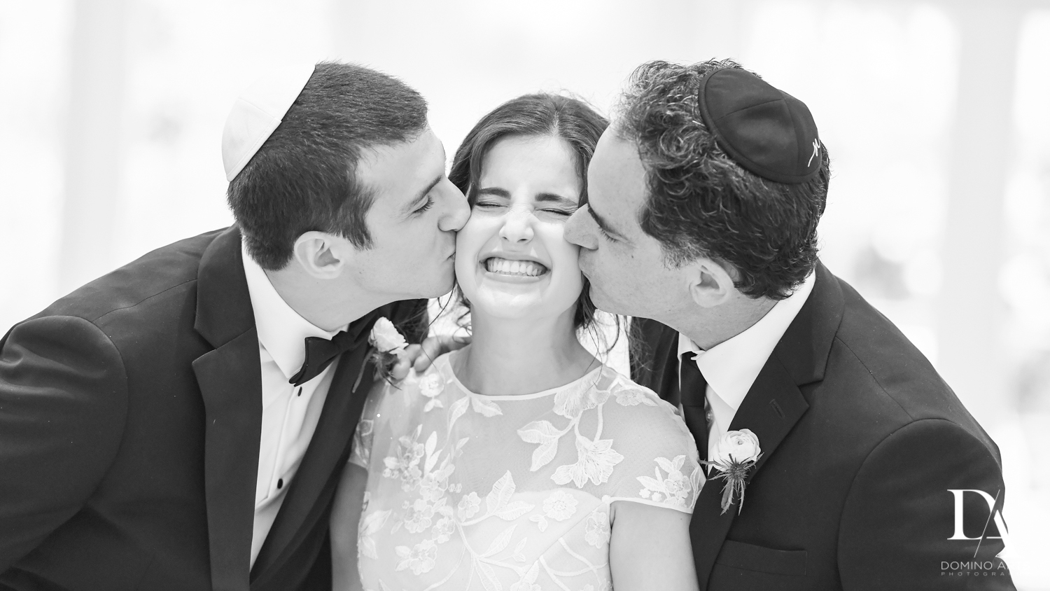 sibling love at Luxury Summer Wedding at The Colony Hotel Palm Beach by Domino Arts Photography