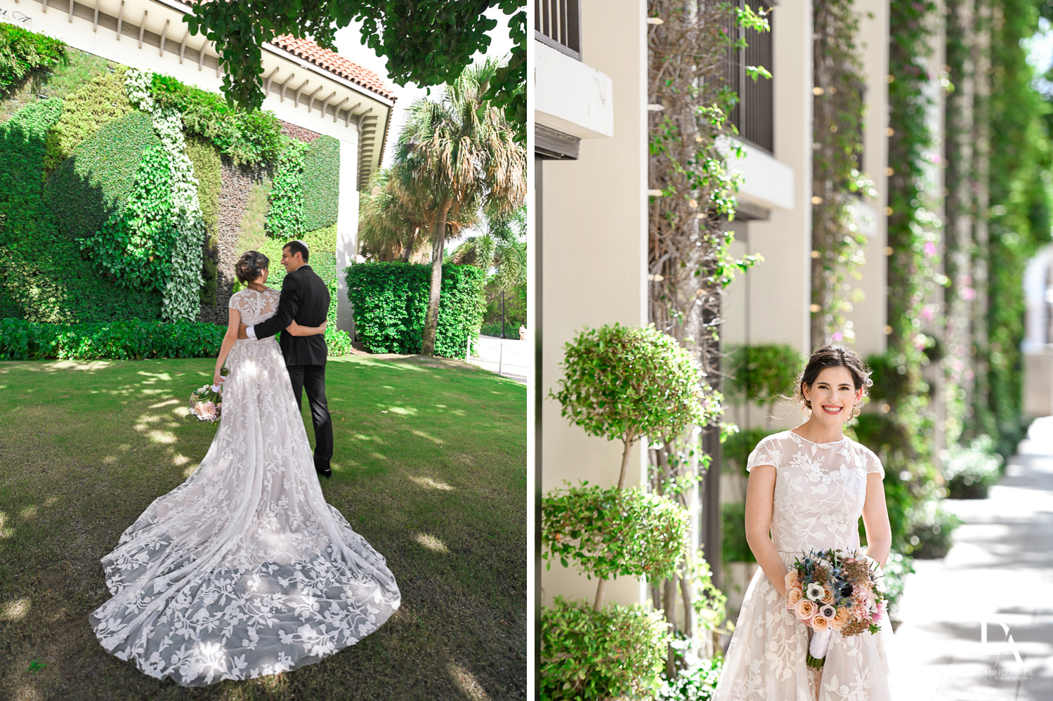 sunny day at Luxury Summer Wedding at The Colony Hotel Palm Beach by Domino Arts Photography