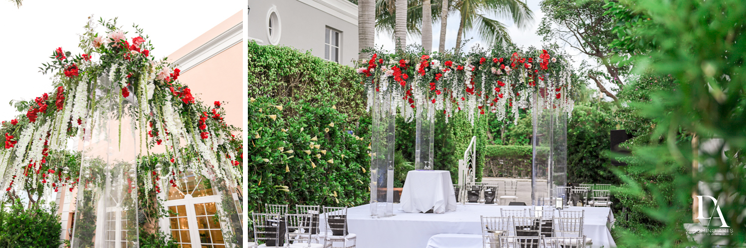 best chuppah at Luxury Summer Wedding at The Colony Hotel Palm Beach by Domino Arts Photography