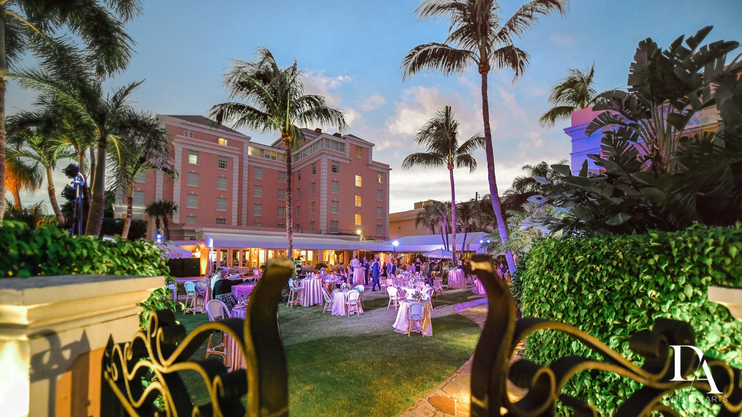 Luxury Summer Wedding at The Colony Hotel Palm Beach by Domino Arts Photography