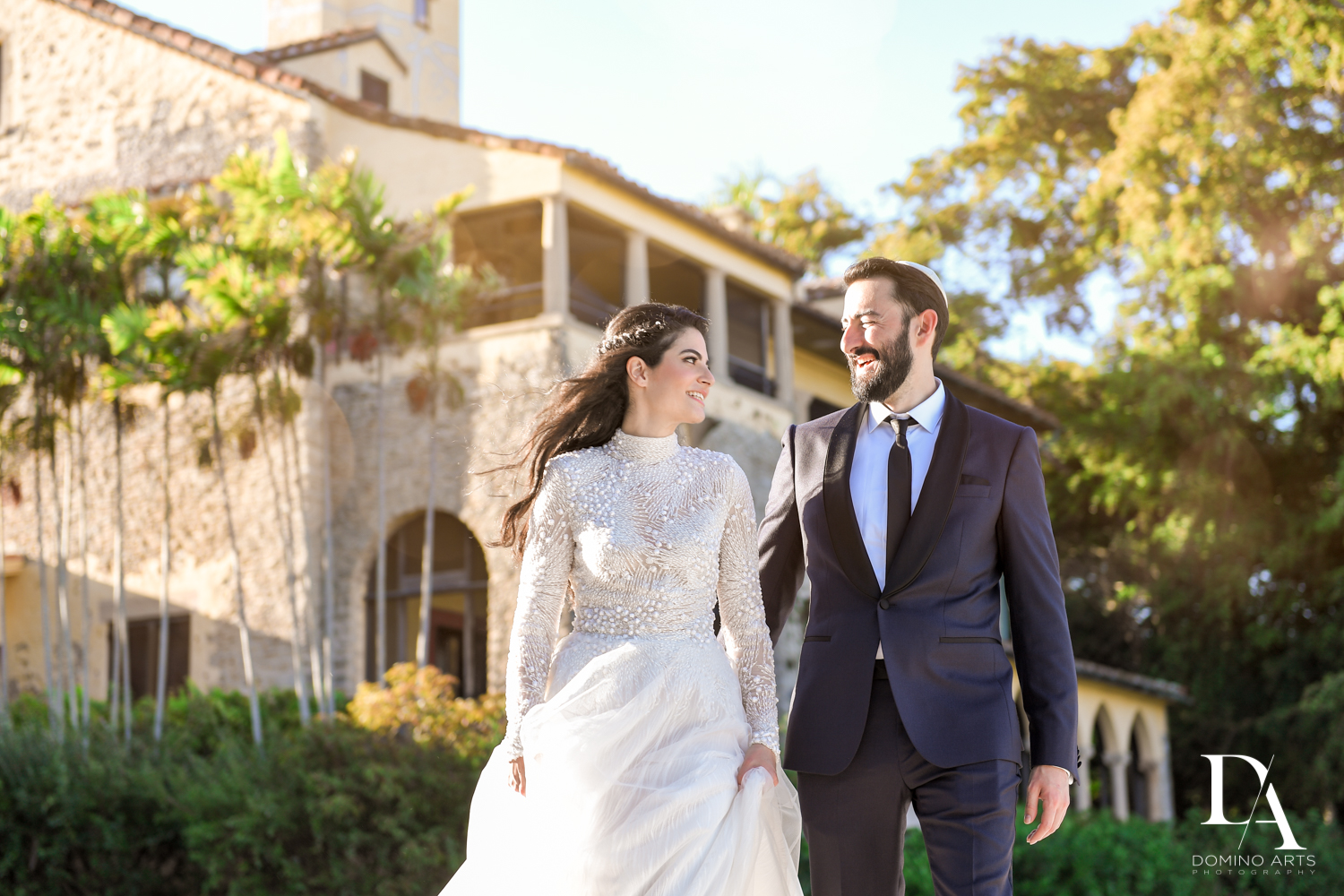 Traditional Jewish Wedding at Deering Estate Miami by Domino Arts Photography