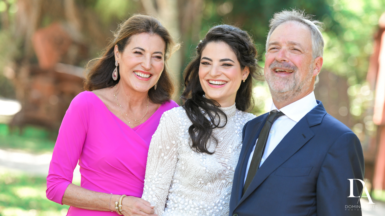 parents at Traditional Jewish Wedding at Deering Estate Miami by Domino Arts Photography