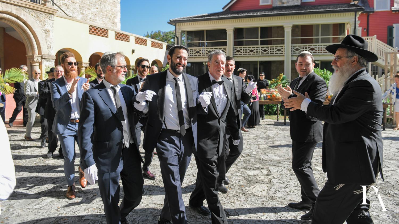tish at Traditional Jewish Wedding at Deering Estate Miami by Domino Arts Photography