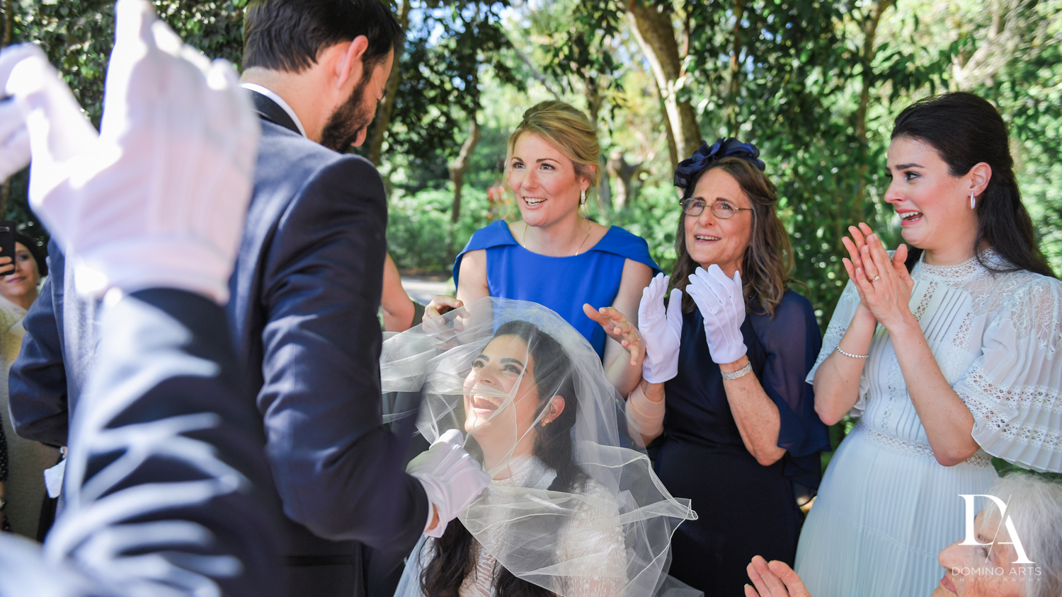 customs at Traditional Jewish Wedding at Deering Estate Miami by Domino Arts Photography