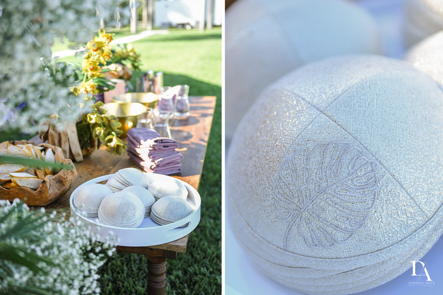 details at Traditional Jewish Wedding at Deering Estate Miami by Domino Arts Photography