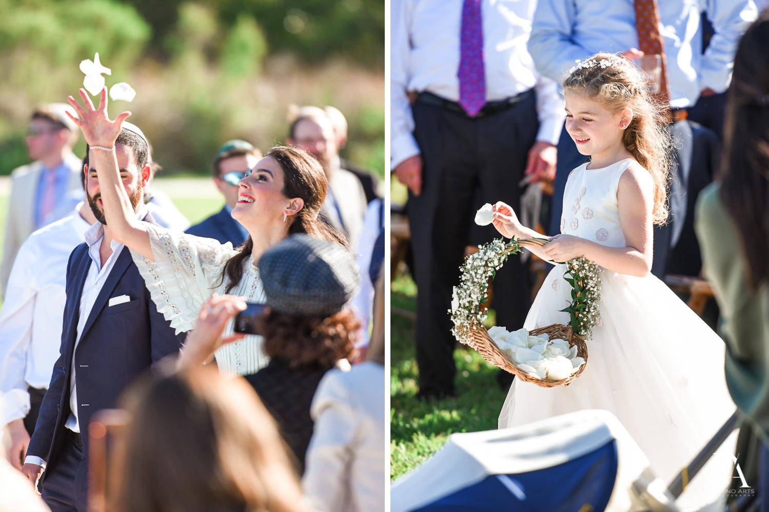 natural photos at Traditional Jewish Wedding at Deering Estate Miami by Domino Arts Photography