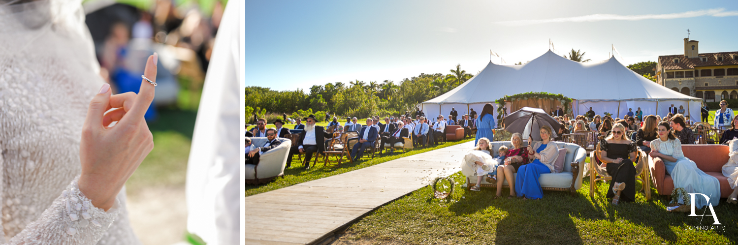 beautiful venue for Traditional Jewish Wedding at Deering Estate Miami by Domino Arts Photography