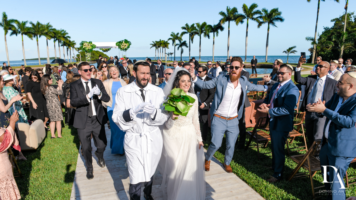 florida weather at Traditional Jewish Wedding at Deering Estate Miami by Domino Arts Photography
