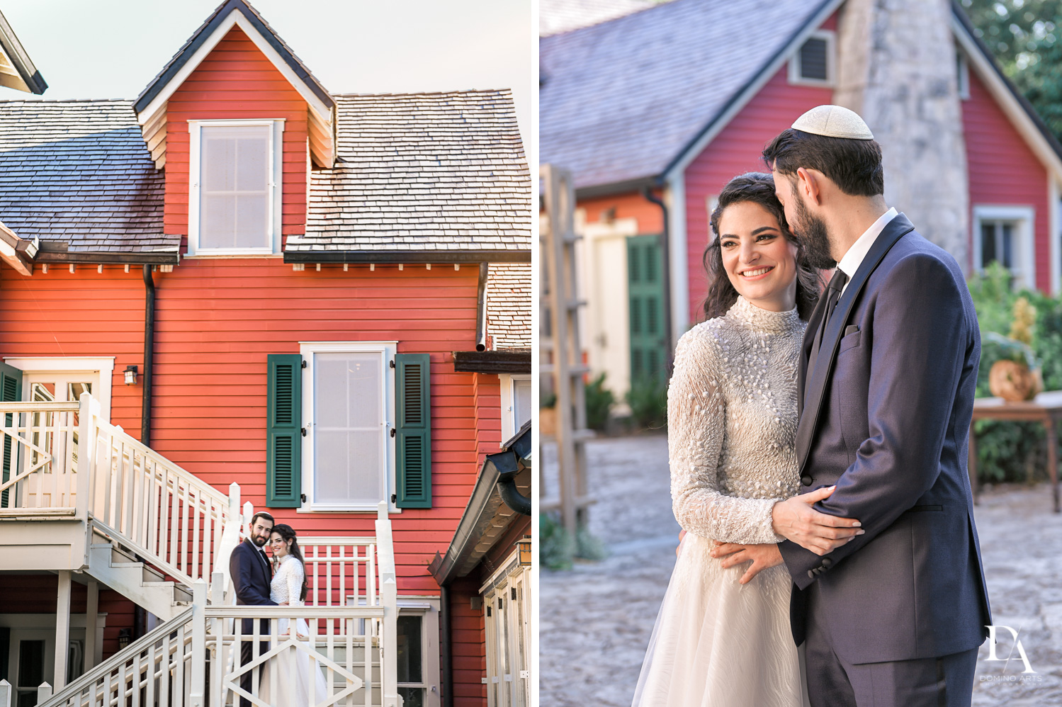 antique house at Traditional Jewish Wedding at Deering Estate Miami by Domino Arts Photography