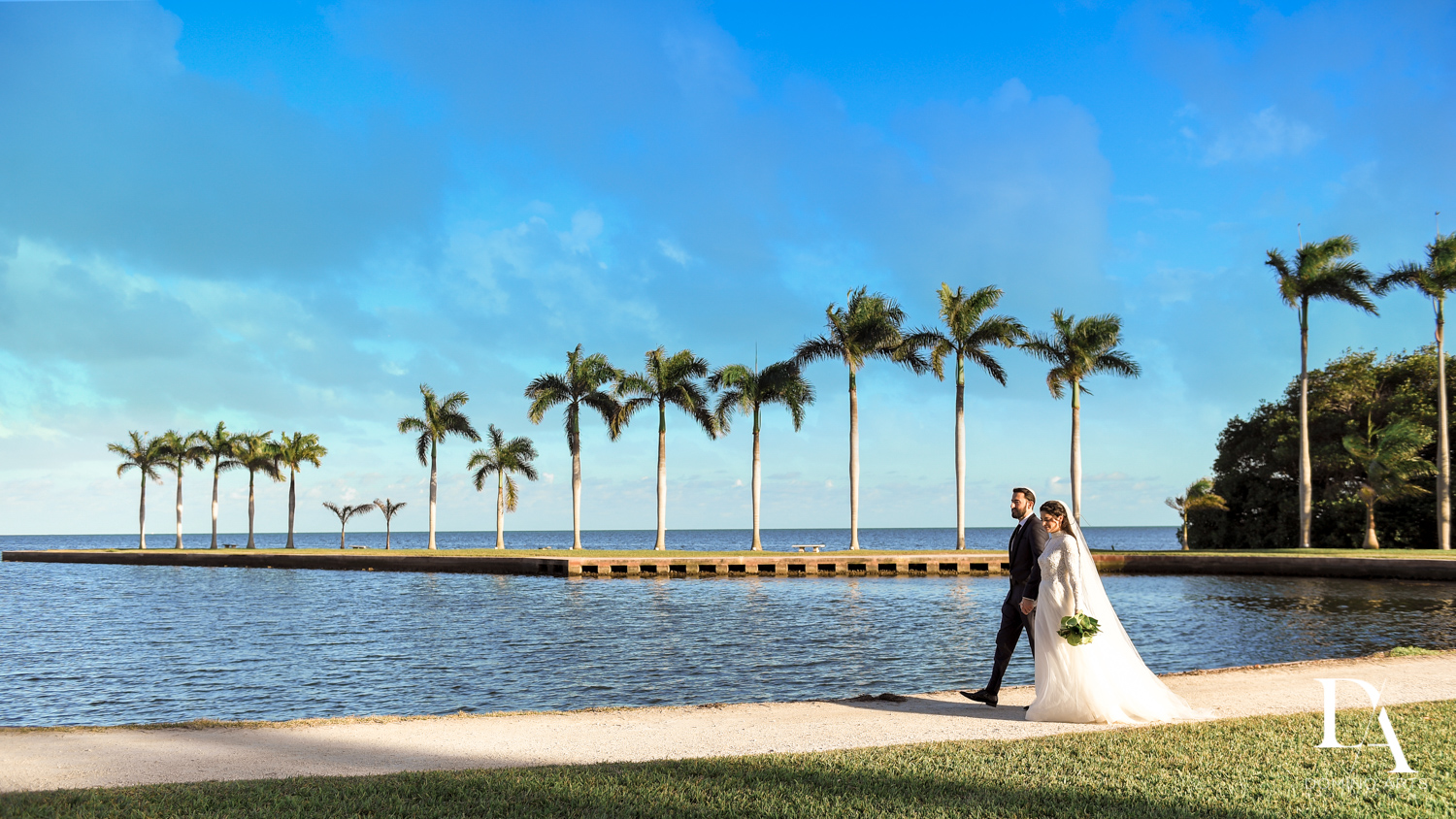 best venue for Traditional Jewish Wedding at Deering Estate Miami by Domino Arts Photography