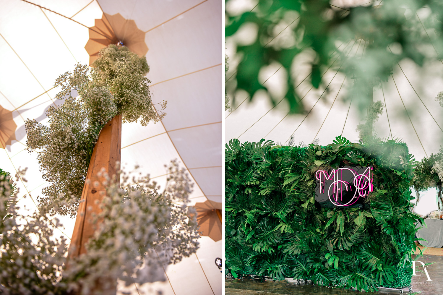 beautiful details at Traditional Jewish Wedding at Deering Estate Miami by Domino Arts Photography