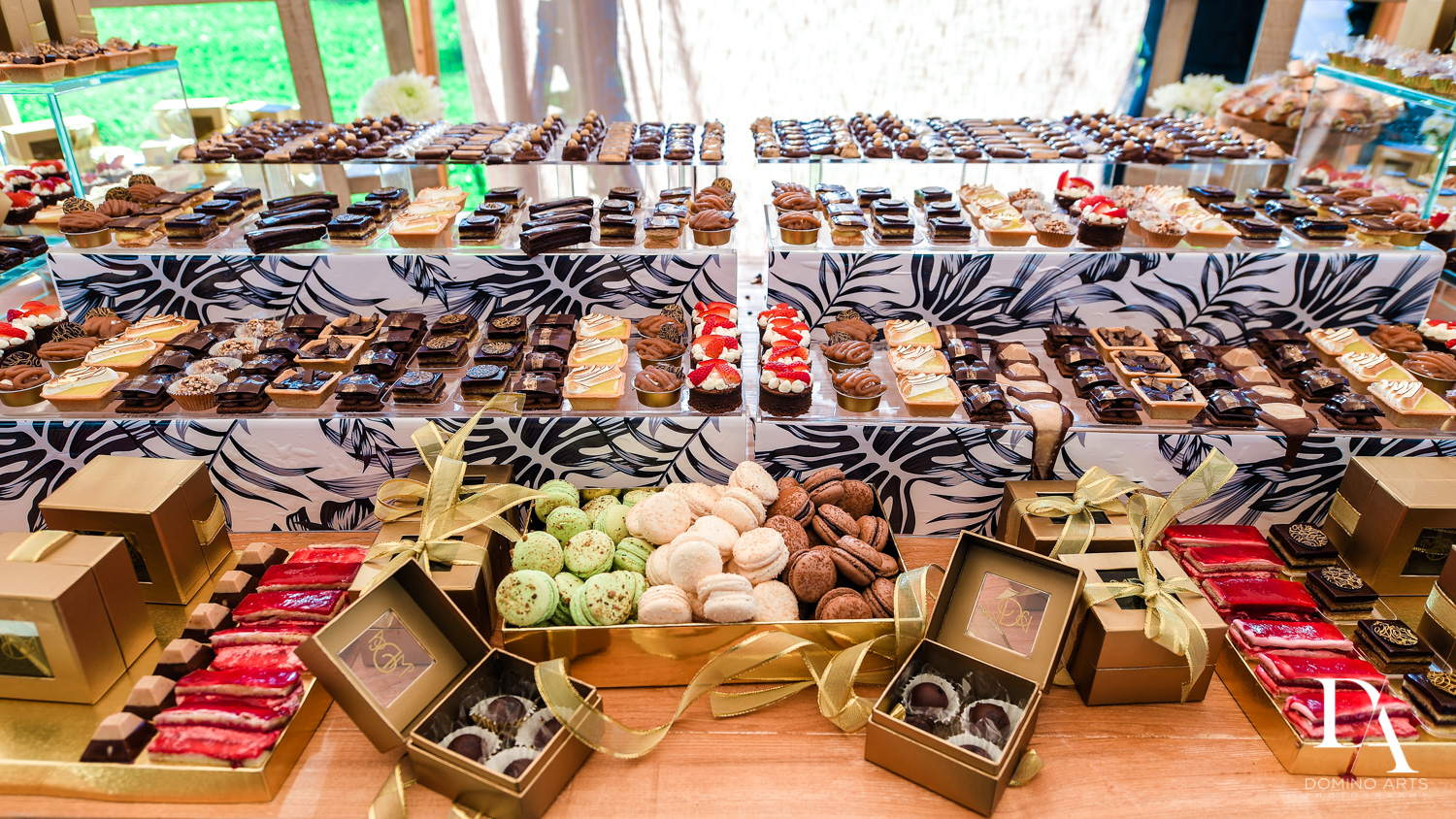 best desserts at Traditional Jewish Wedding at Deering Estate Miami by Domino Arts Photography