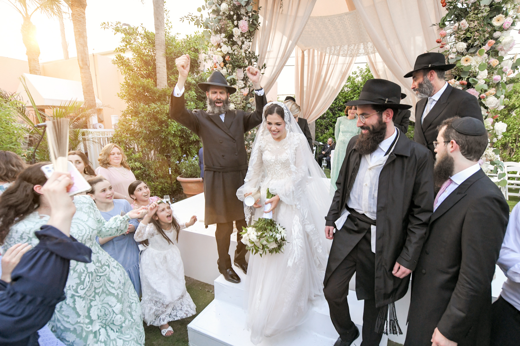 JEWISH ORTHODOX WEDDING IN PALM BEACH BY DOMINO ARTS PHOTOGRAPHY