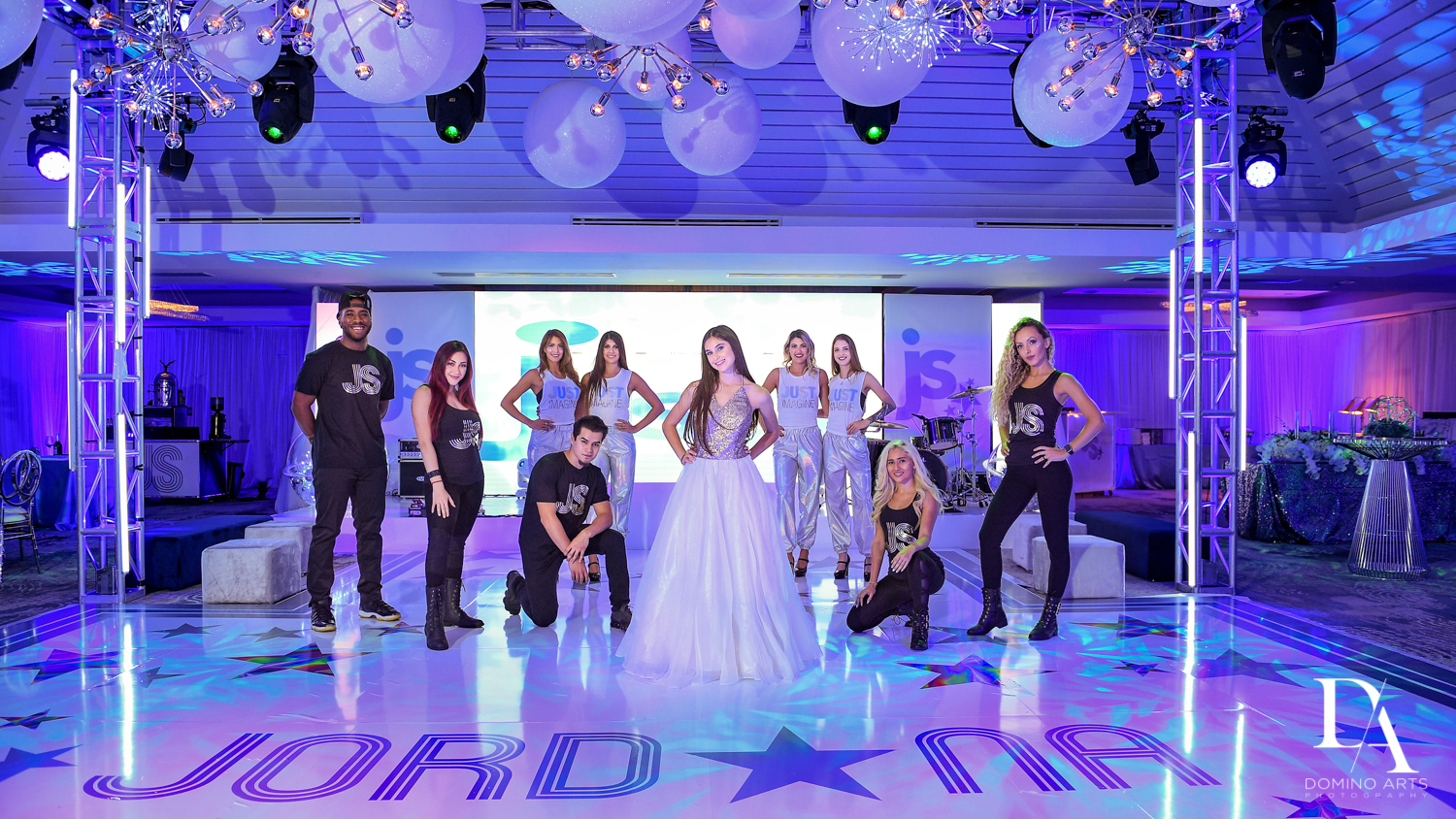 Motiv8 at Trendy Decor Bat Mitzvah at St Andrews Country Club by Domino Arts Photography