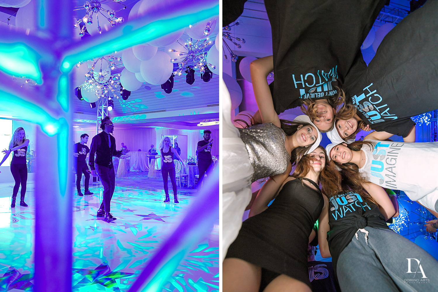 Trendy Decor Bat Mitzvah at St Andrews Country Club by Domino Arts Photography