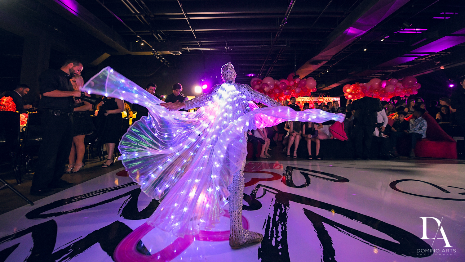 live models for hire at Fashion Theme Bat Mitzvah at Gallery of Amazing Things by Domino Arts Photography