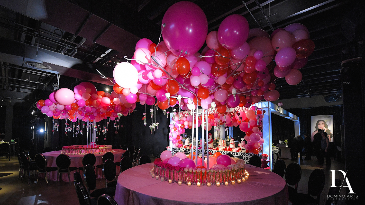 christina manso decor at Fashion Theme Bat Mitzvah at Gallery of Amazing Things by Domino Arts Photography