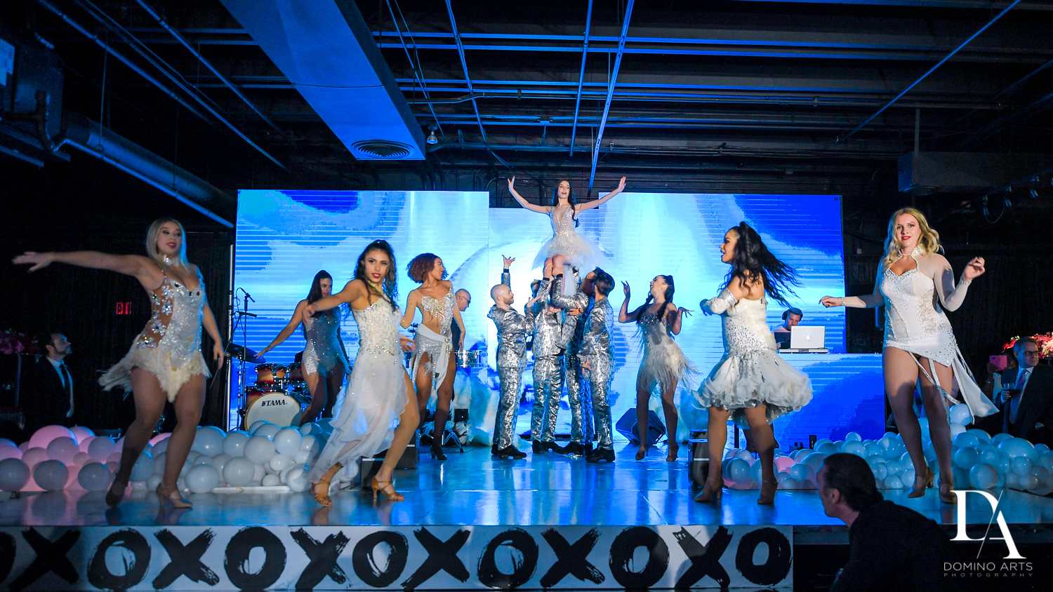 dance performance at Fashion Theme Bat Mitzvah at Gallery of Amazing Things by Domino Arts Photography