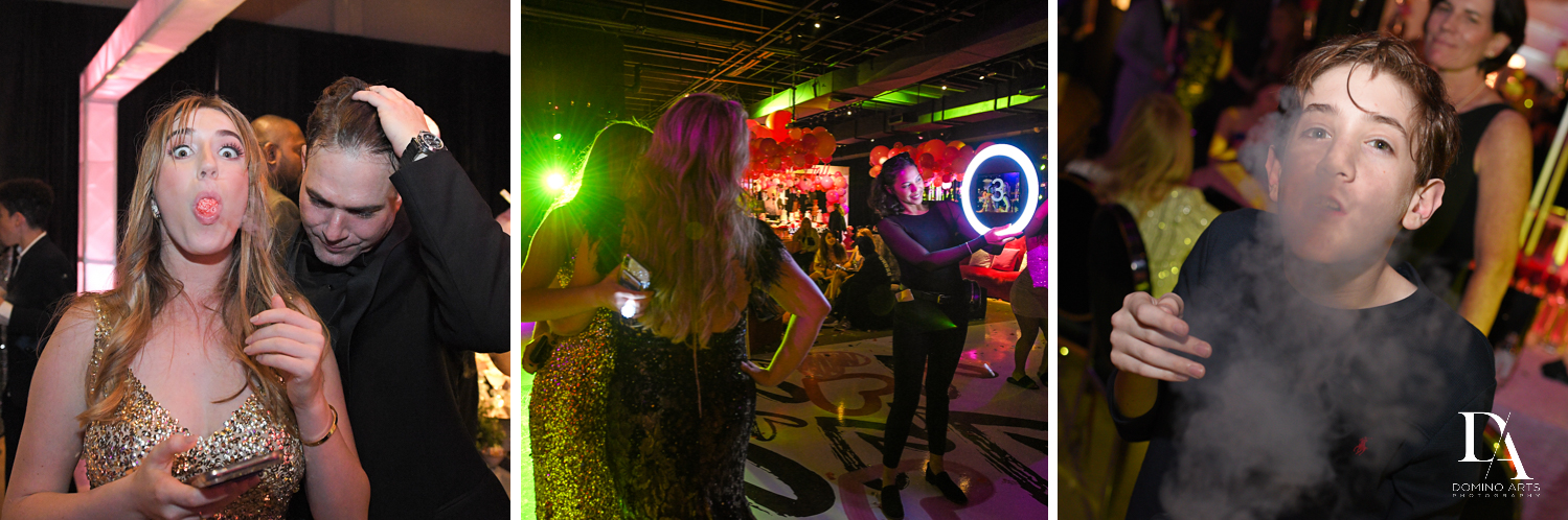 ring roamer at Fashion Theme Bat Mitzvah at Gallery of Amazing Things by Domino Arts Photography