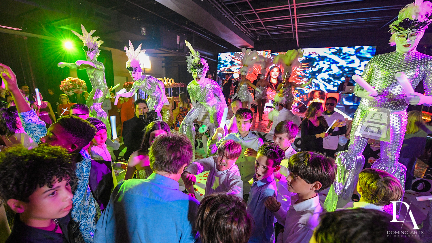best fun party ideas at Fashion Theme Bat Mitzvah at Gallery of Amazing Things by Domino Arts Photography