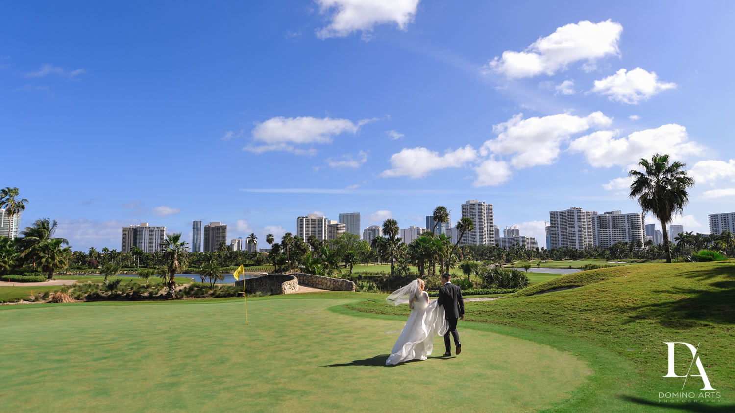 Aventura Turnberry golf course wedding by domino arts photography