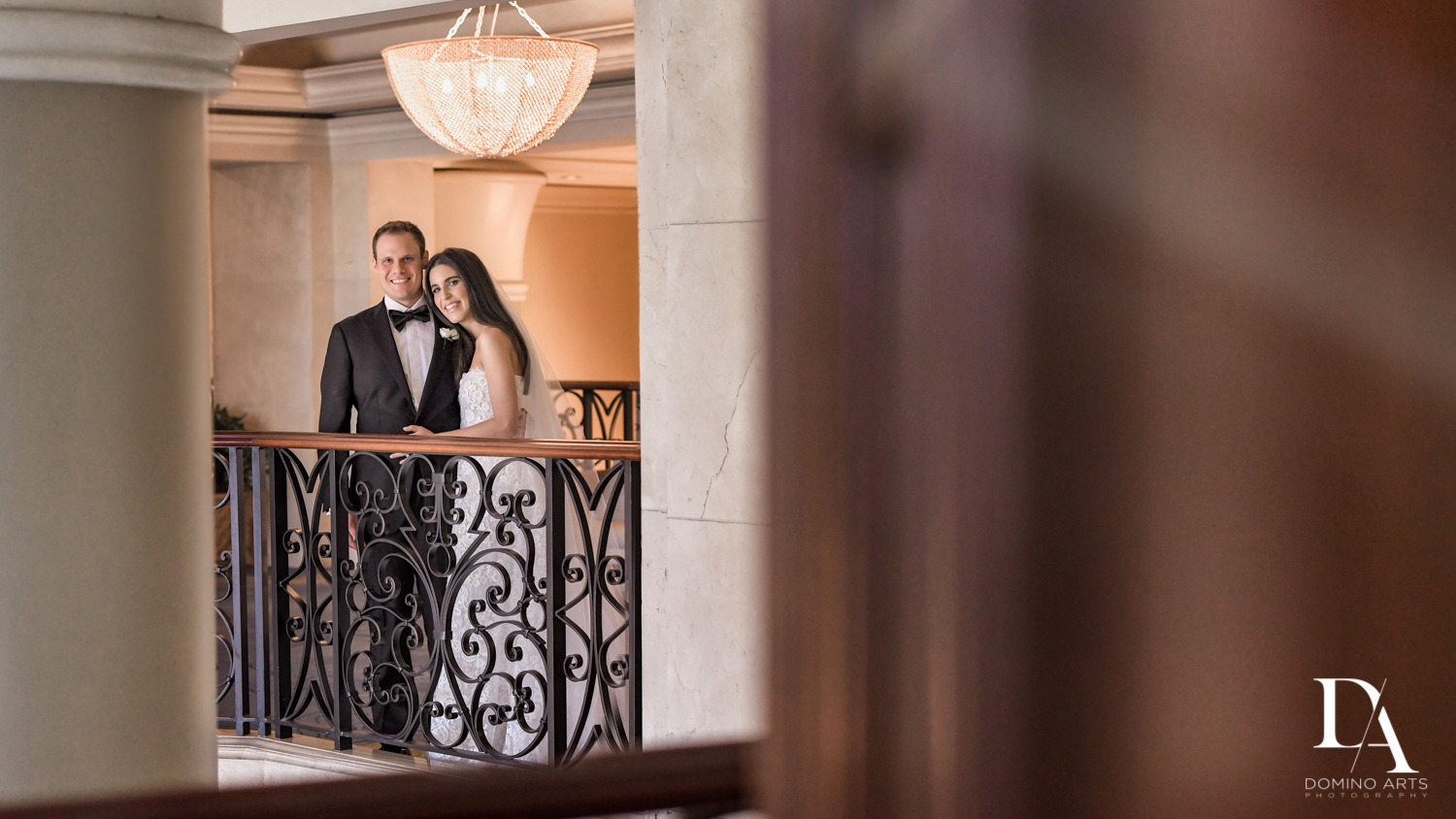 romantic photos from A Ritz Carlton Wedding in Key Biscayne by Domino Arts Photography
