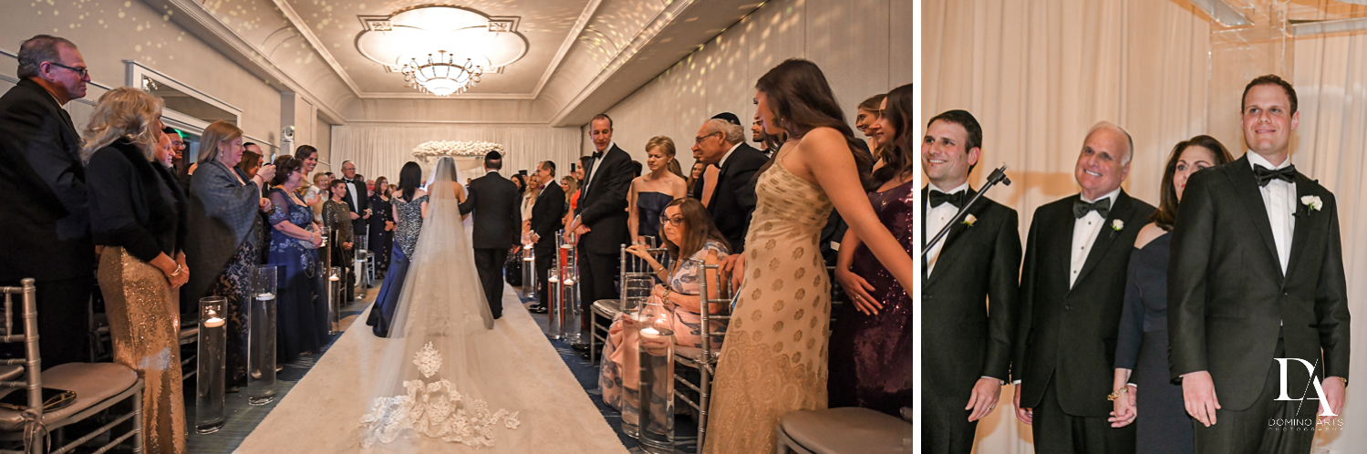 ceremony photos at A Ritz Carlton Wedding in Key Biscayne by Domino Arts Photography