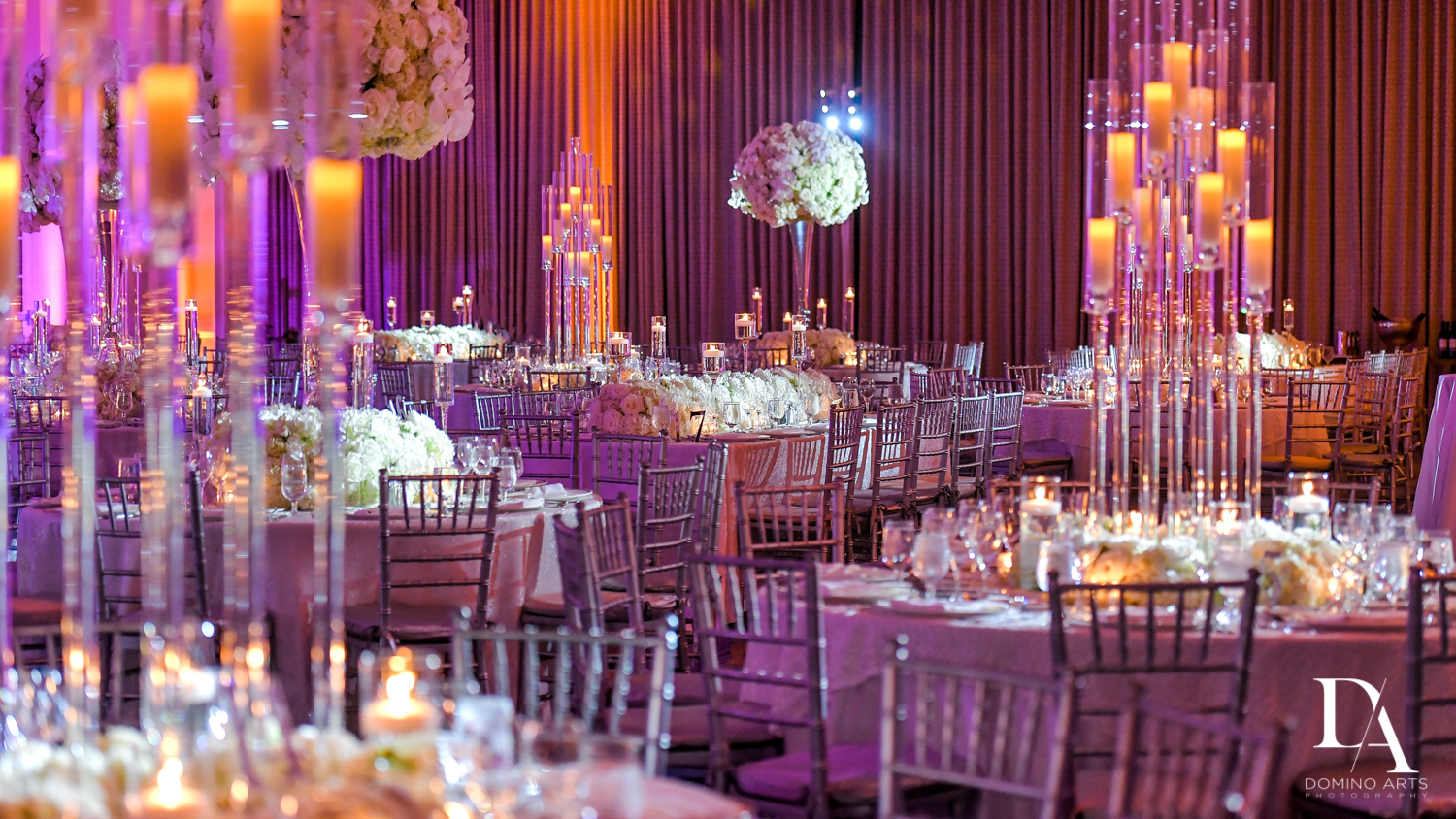 petal productions decor at A Ritz Carlton Wedding in Key Biscayne by Domino Arts Photography