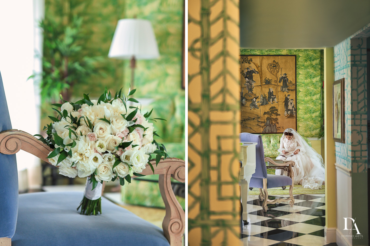 the colony hotel at Jewish Orthodox Wedding in Palm Beach by Domino Arts Photography