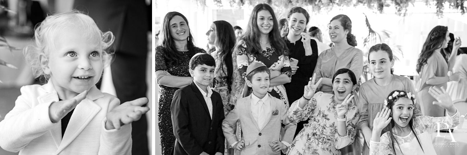 photo journalism at Jewish Orthodox Wedding in Palm Beach by Domino Arts Photography