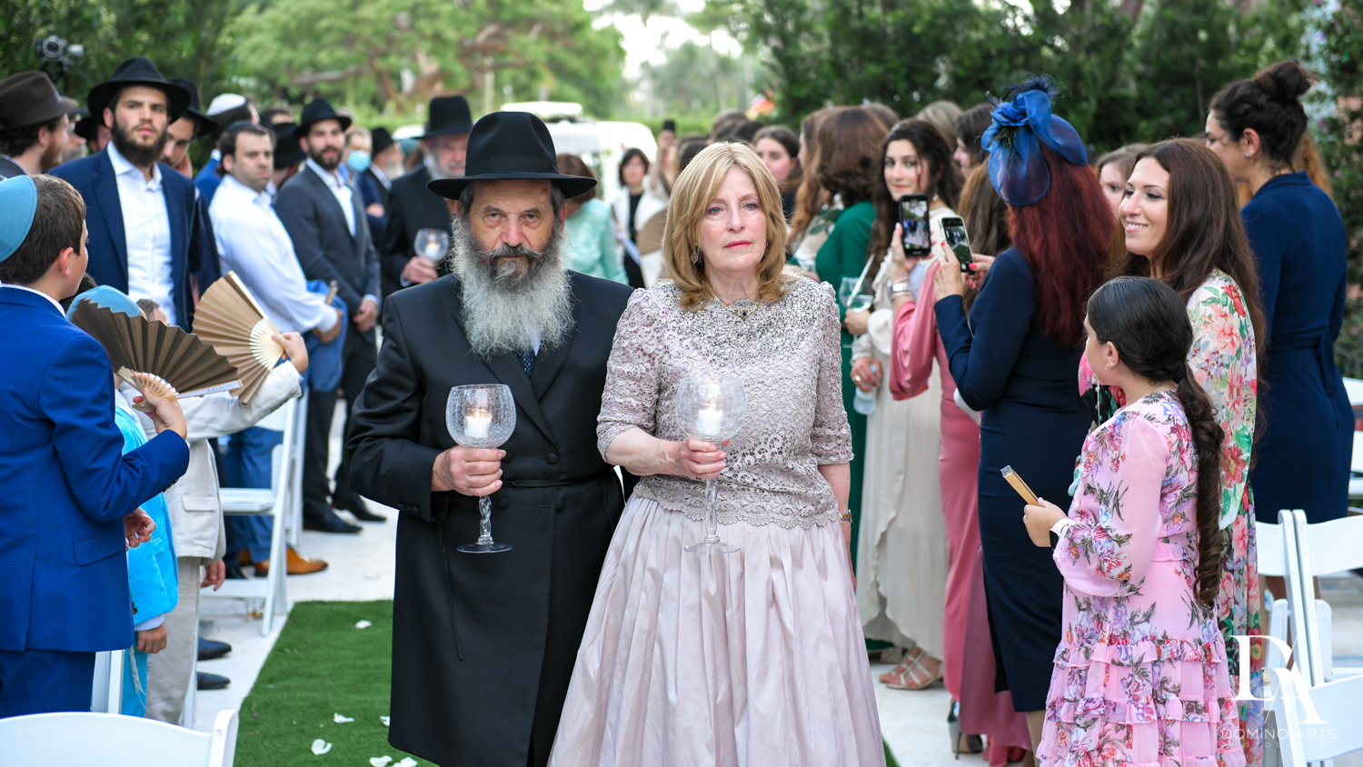 traditions from Jewish Orthodox Wedding in Palm Beach by Domino Arts Photography