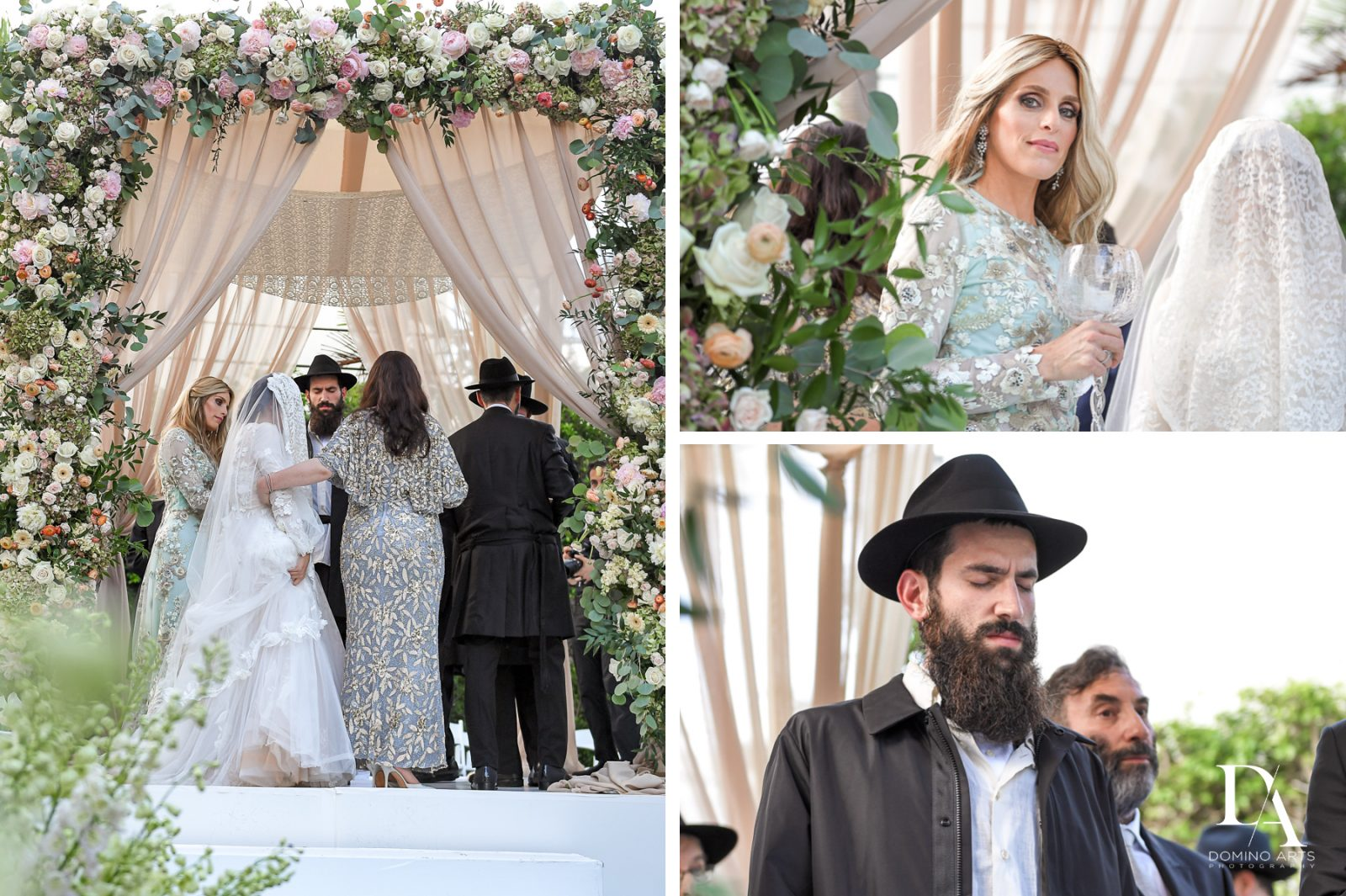 traditions at Jewish Orthodox Wedding in Palm Beach by Domino Arts Photography