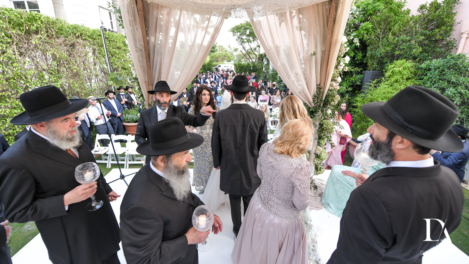 Jewish Orthodox Wedding in Palm Beach by Domino Arts Photography