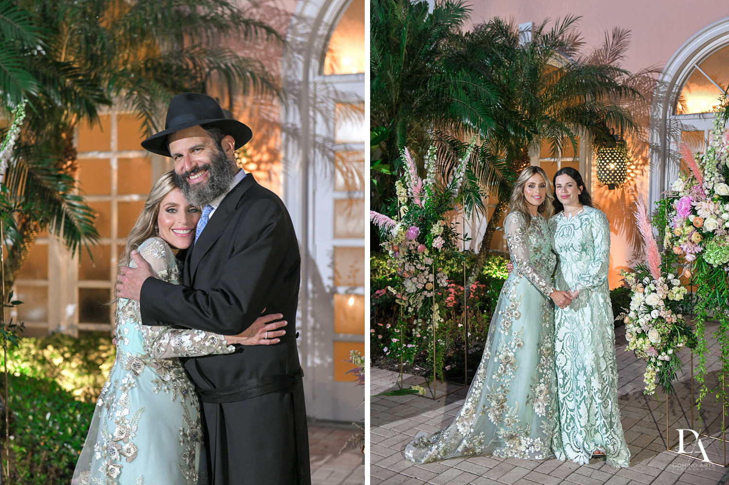 portraits at Jewish Orthodox Wedding in Palm Beach by Domino Arts Photography