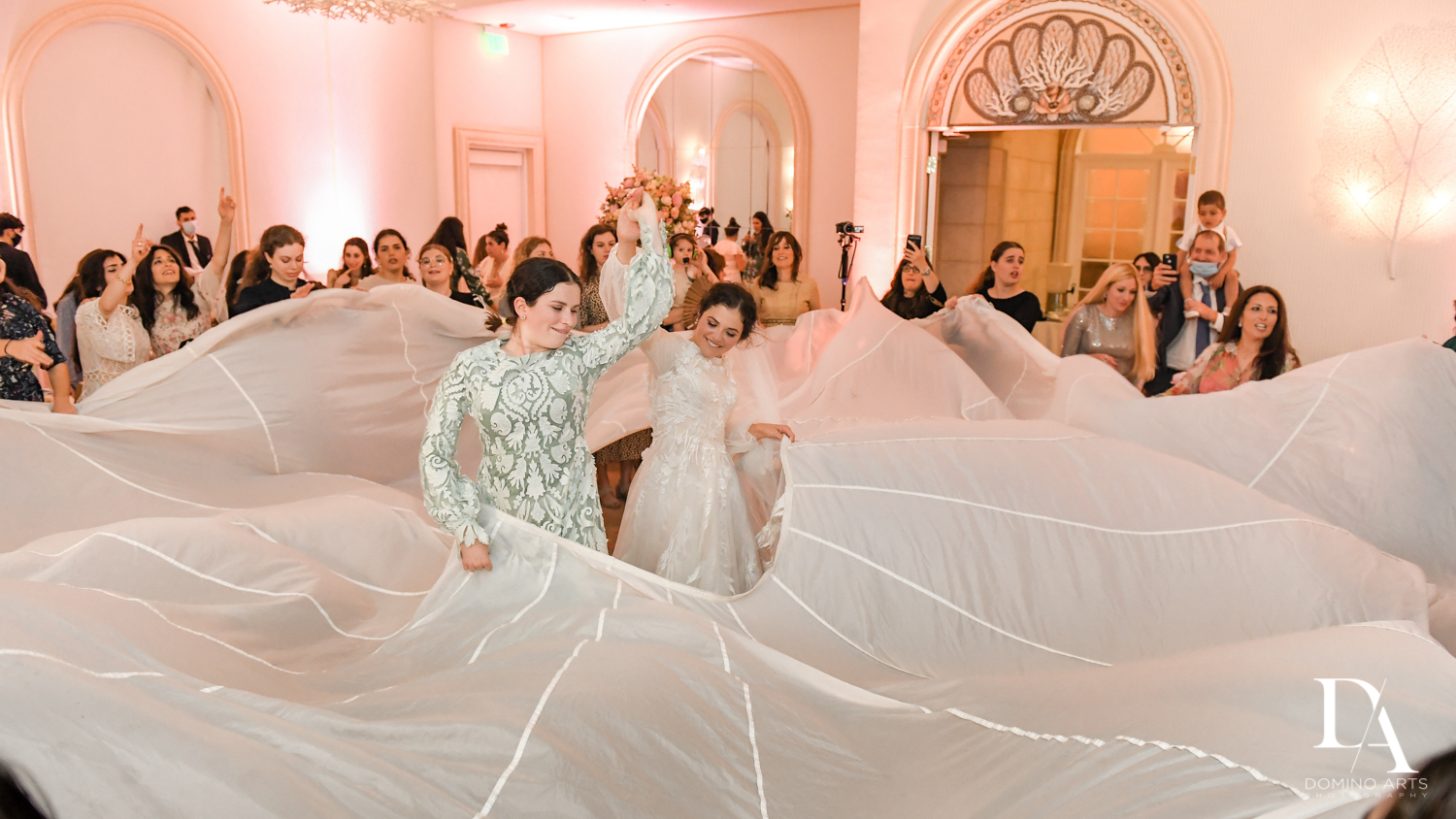 Florida Wedding Shtick at Jewish Orthodox Wedding in Palm Beach by Domino Arts Photography