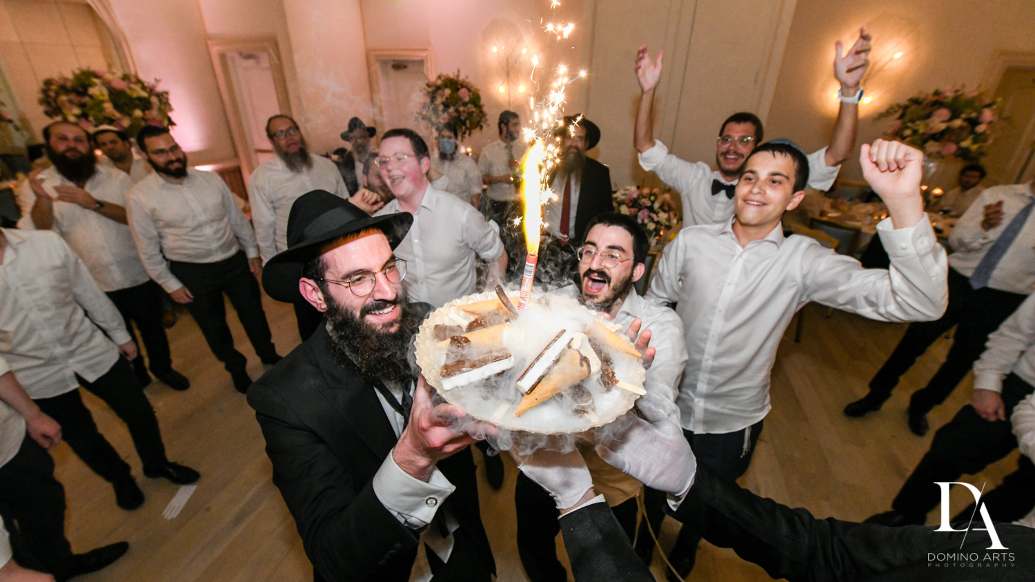best dessert at Jewish Orthodox Wedding in Palm Beach by Domino Arts Photography