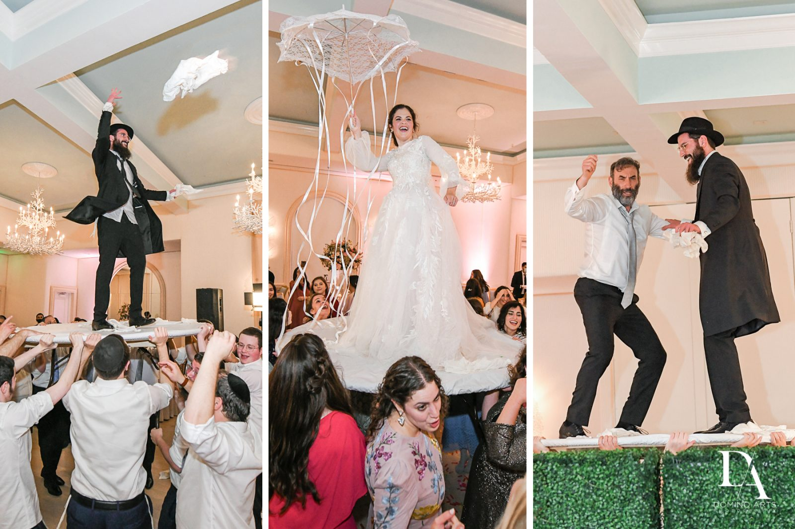 Best Wedding props for Jewish Orthodox Wedding in Palm Beach by Domino Arts Photography