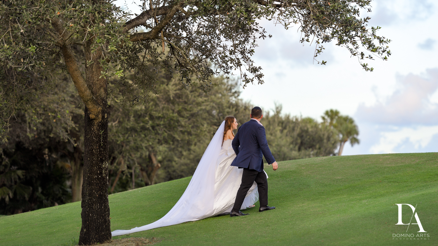 Beautiful Intimate Wedding at Mizner Country Club by Domino Arts Photography