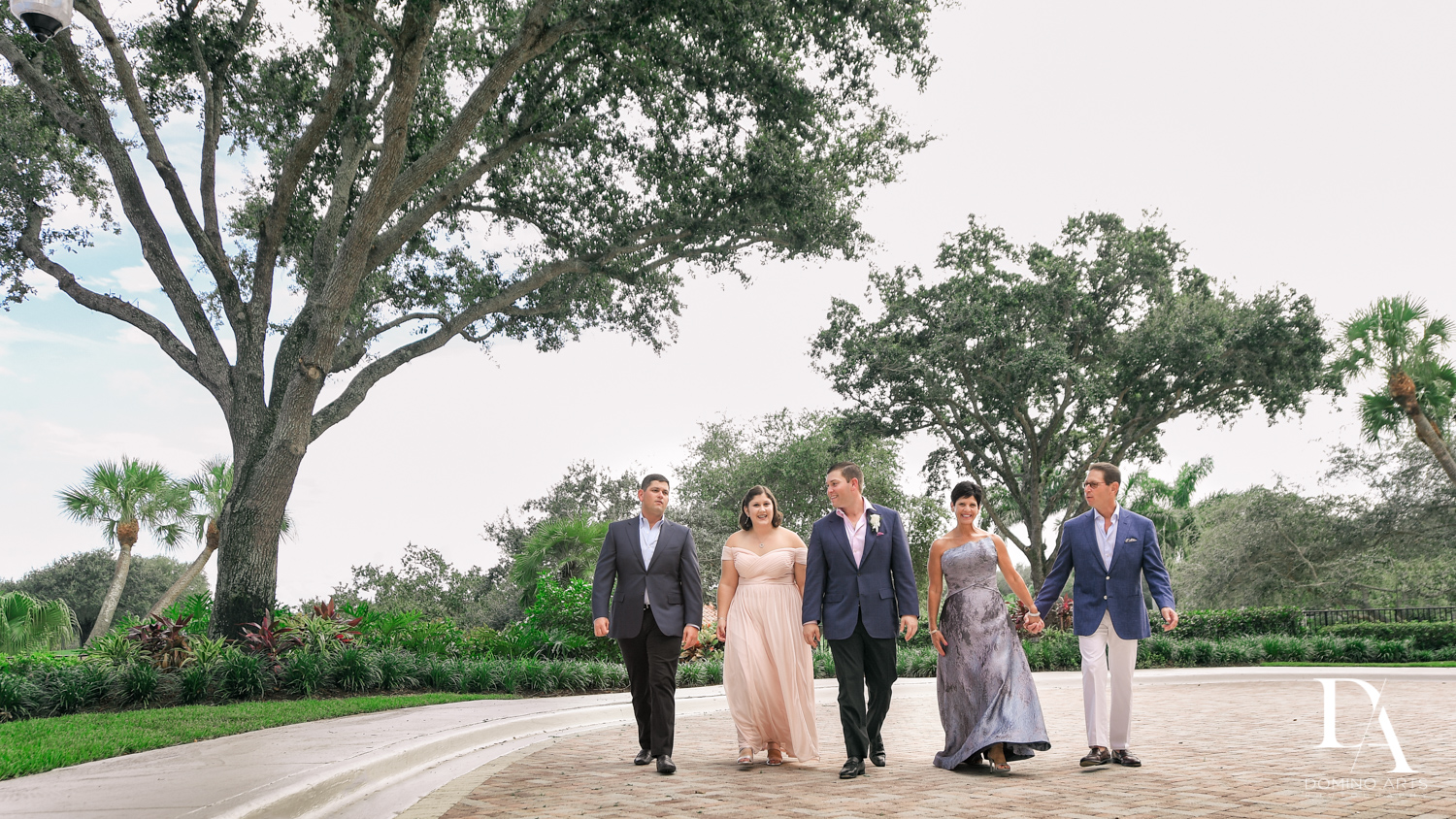 natural groom family photos at Beautiful Intimate Wedding at Mizner Country Club by Domino Arts Photography