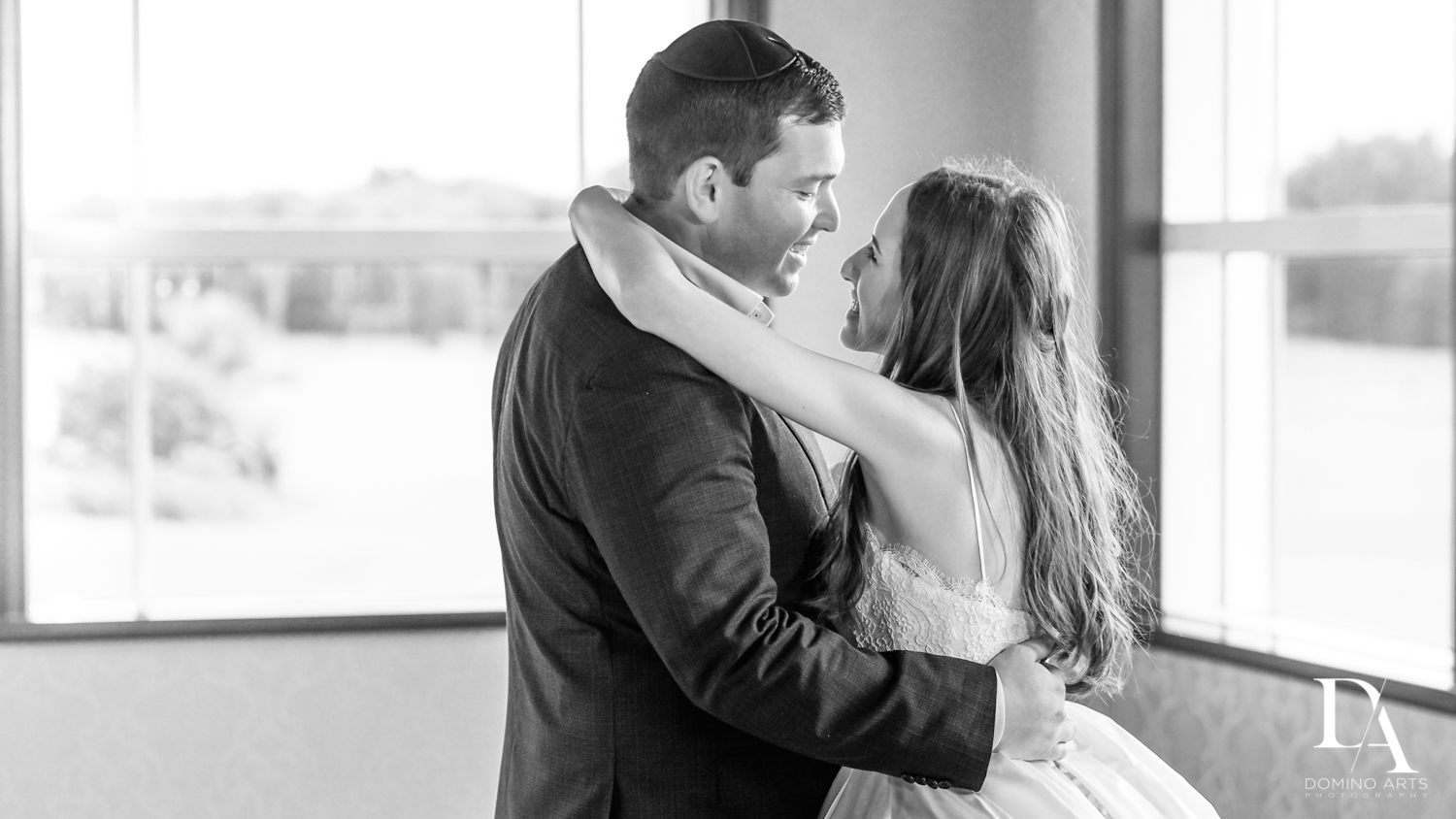 In love at Beautiful Intimate Wedding at Mizner Country Club by Domino Arts Photography
