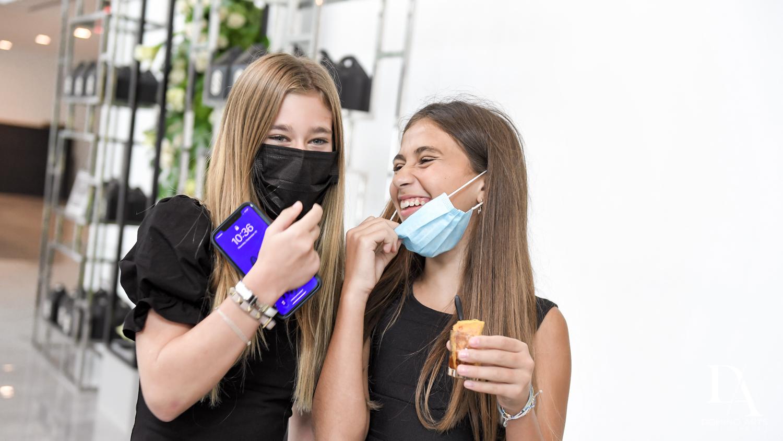 masks at Bar Mitzvah Ceremony at Aventura Chabad by Domino Arts Photography