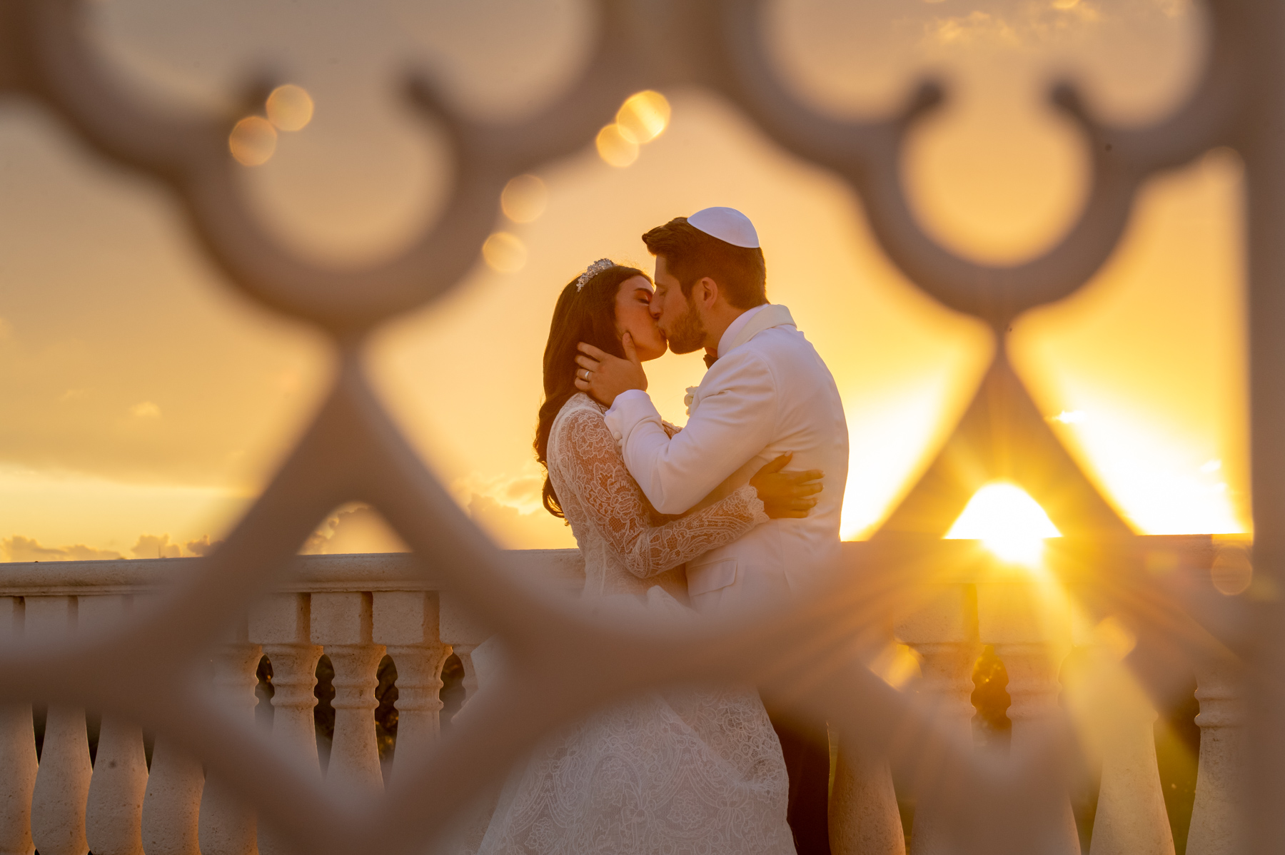 Perfect Sunset wedding at Trump Doral Miami by Domino Arts Photography