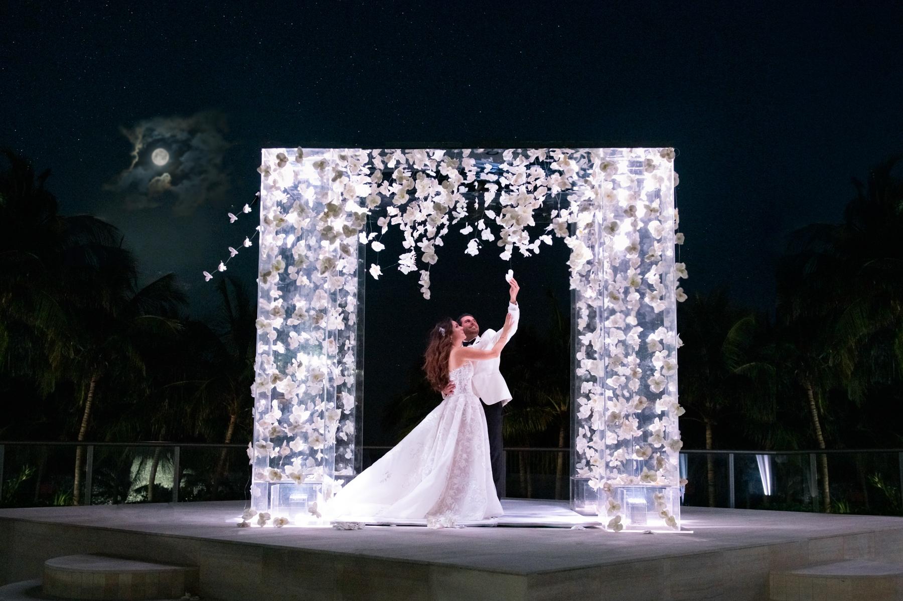 Positano Italian theme Wedding at St Regis, Bal Harbour
