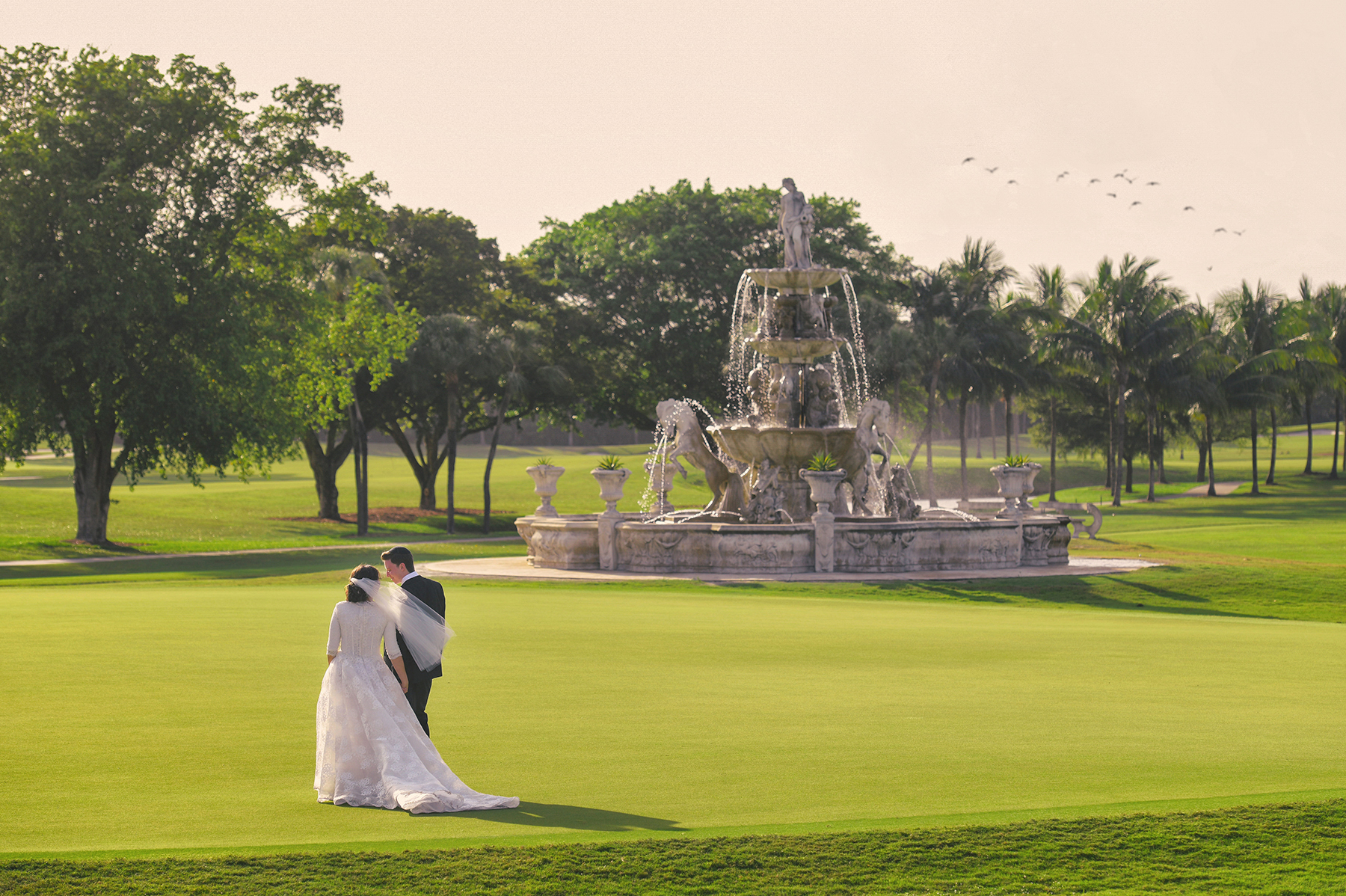Jewish Country Club Wedding at Trump National Doral Miami by Domino Arts Photography